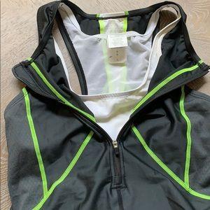 Nike Other - Nike | Triathlon Tri Suit Swim Bike Run Blk Neon L
